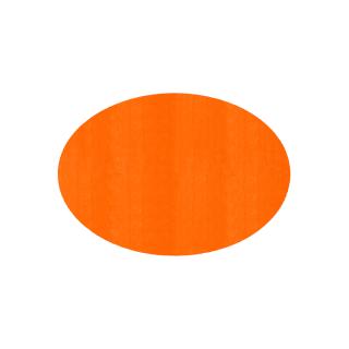 だ円形/オレンジ