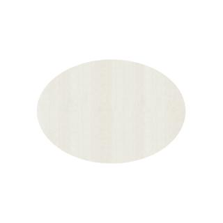 だ円形/ミルキーホワイト