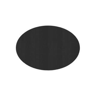 だ円形/ブラック