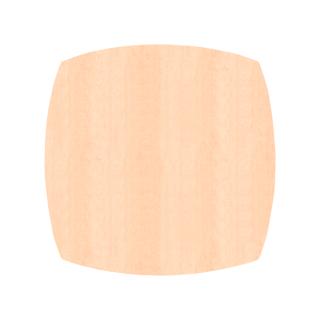ふっくら四角形/ピーチ