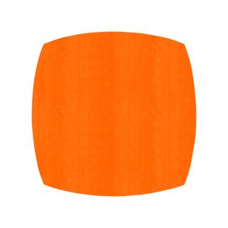 ふっくら四角形/オレンジ