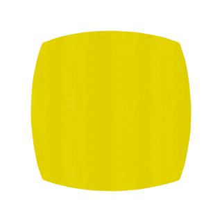 ふっくら四角形/レモン