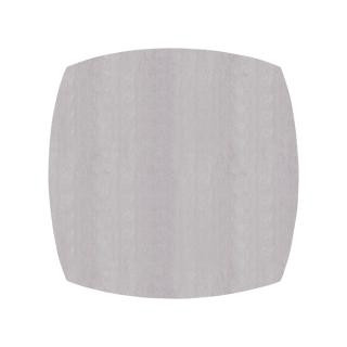 ふっくら四角形/ウォームグレー