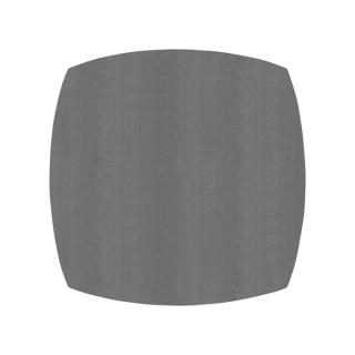 ふっくら四角形/スモークグレー