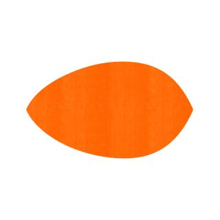 リーフ形/オレンジ