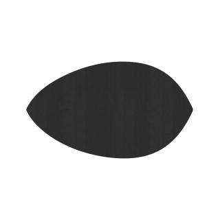 リーフ形/ブラック