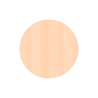 円形/ピーチ