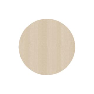 円形/アイボリー