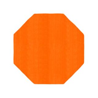 八角形/オレンジ