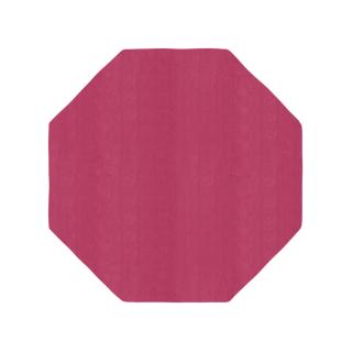 八角形/ワインレッド