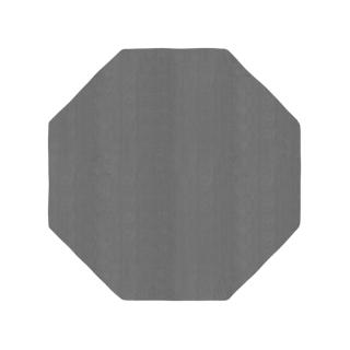 八角形/スモークグレー
