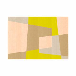 ベベル/四角形/04ピーチ&ベ