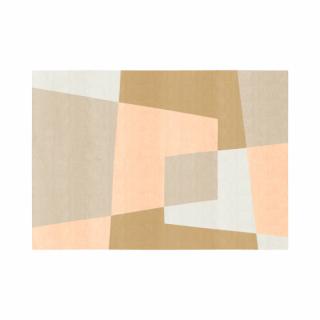 ベベル/四角形/08アイボリー