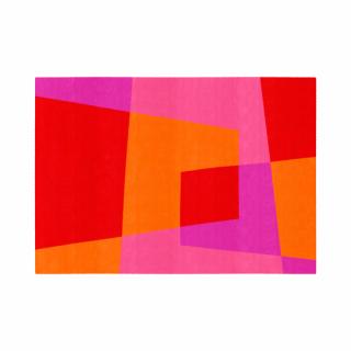 ベベル/四角形/09ストロベリ