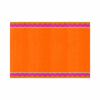 フリル/四角形/04オレンジ&