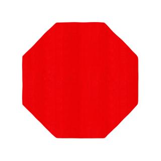 八角形/毛足長さ:カット/スト