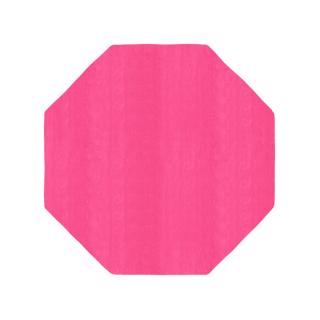 八角形/毛足長さ:カット/ナデ