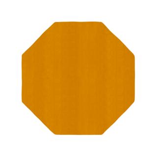 八角形/毛足長さ:カット/パン