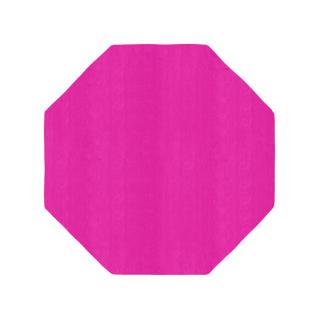 八角形/毛足長さ:カット/アザ