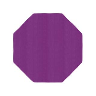 八角形/毛足長さ:カット/プラ
