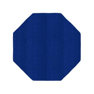 八角形/毛足長さ:カット/イン