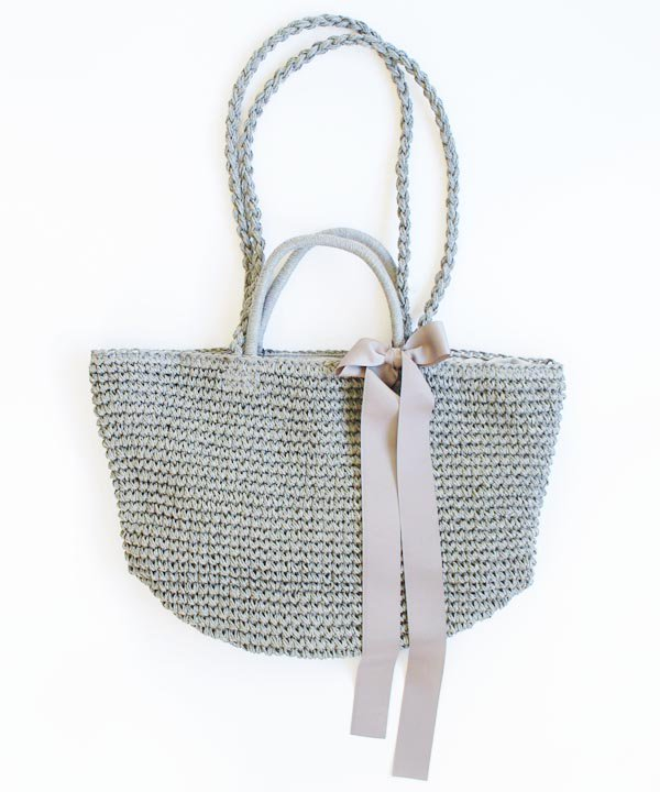 New Woven Bag (グレー)<img class='new_mark_img2' src='//img.shop-pro.jp/img/new/icons52.gif' style='border:none;display:inline;margin:0px;padding:0px;width:auto;' />