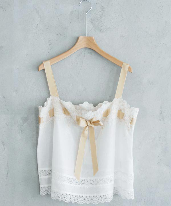 Embroidery Lace Camisole