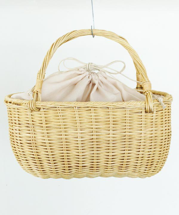 【SALE:30%off】Rattan Basket<img class='new_mark_img2' src='//img.shop-pro.jp/img/new/icons16.gif' style='border:none;display:inline;margin:0px;padding:0px;width:auto;' />