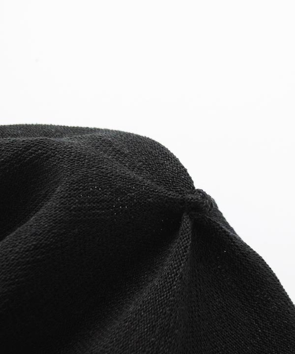 beret top gather big silk(ブラック)<img class='new_mark_img2' src='https://img.shop-pro.jp/img/new/icons52.gif' style='border:none;display:inline;margin:0px;padding:0px;width:auto;' />