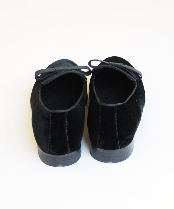 DIEGO BELLINI / ベルベットスリッポン(ブラック)
