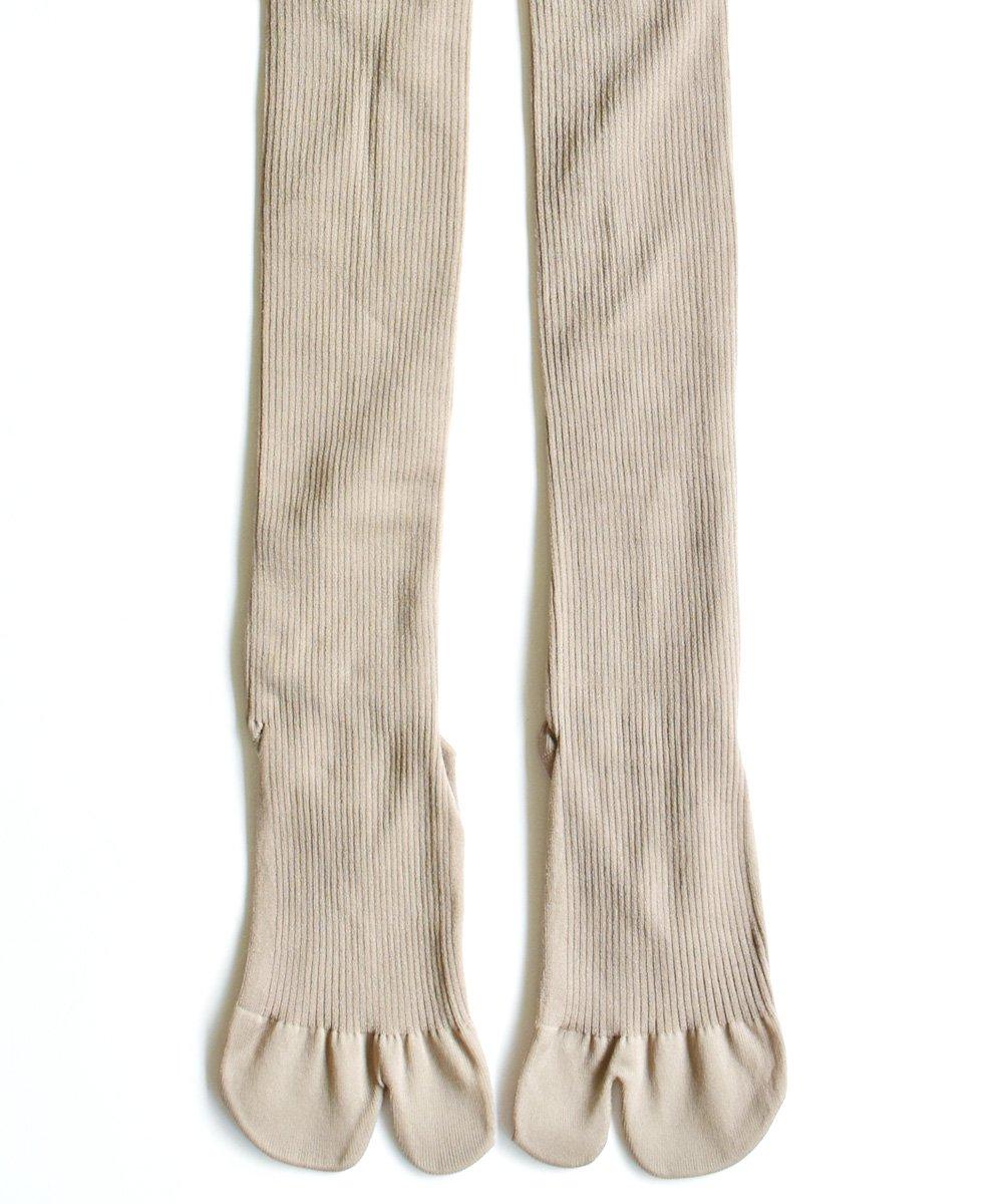 NEW CLASSIC / 足袋リブタイツ(ブラック)