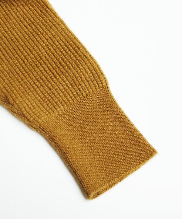 カシミアパンツ(キャメル)