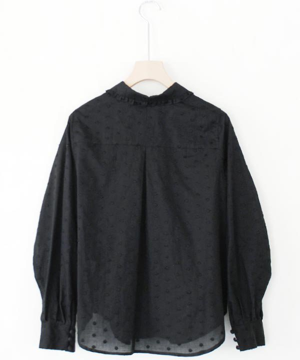 Dot Lace Blouse(ブラック)