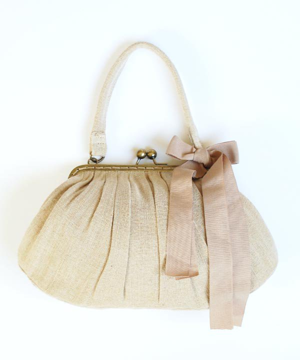 Linen Hand bag<img class='new_mark_img2' src='//img.shop-pro.jp/img/new/icons1.gif' style='border:none;display:inline;margin:0px;padding:0px;width:auto;' />