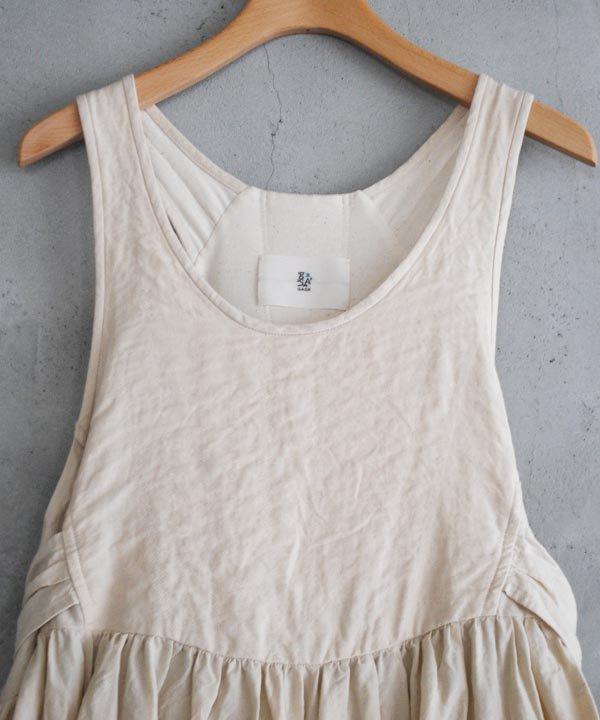 一羽のさよなきどり ノースリーブドレス(off white)