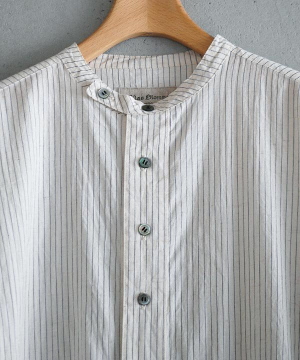 Cotton Stripe ロングシャツワンピース(ベージュ)<img class='new_mark_img2' src='https://img.shop-pro.jp/img/new/icons1.gif' style='border:none;display:inline;margin:0px;padding:0px;width:auto;' />
