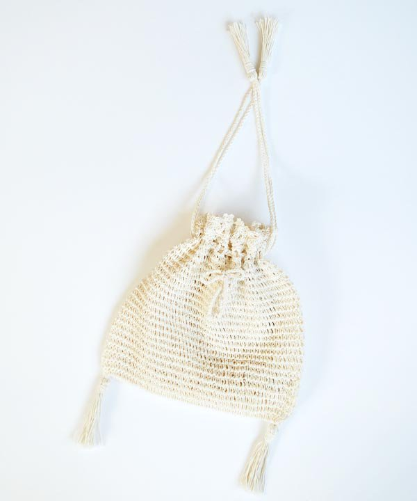 Crochet Shoulder Bag(アイボリー)