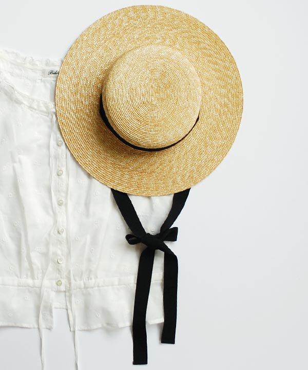 6mm braid straw hat short