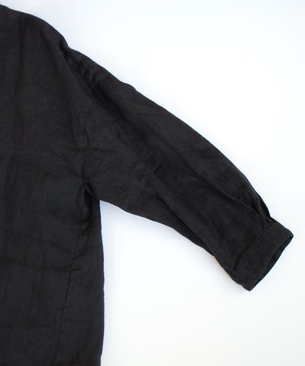 ikkuna / suzuki takayuki / gathered blouse(charcoal gray)<img class='new_mark_img2' src='https://img.shop-pro.jp/img/new/icons1.gif' style='border:none;display:inline;margin:0px;padding:0px;width:auto;' />