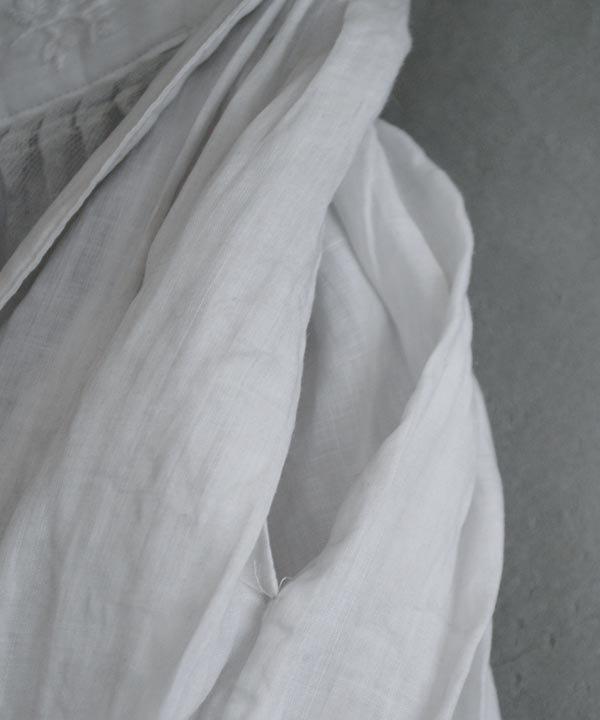 宴の音色 ピンタックスカート(ライトグレー)