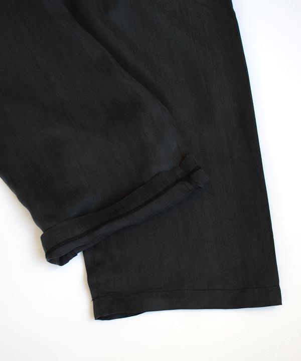 ワイドパンツ(ブラック)