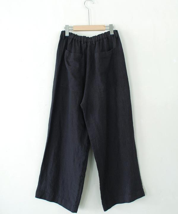 ikkuna / suzuki takayuki  / easy pants(charcoal gray)
