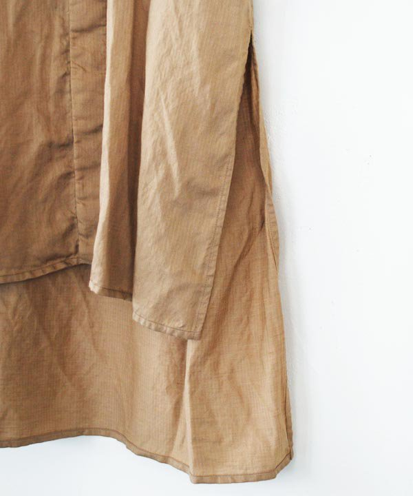 【SALE:30%off】dickey-front shirt(beige)<img class='new_mark_img2' src='https://img.shop-pro.jp/img/new/icons16.gif' style='border:none;display:inline;margin:0px;padding:0px;width:auto;' />