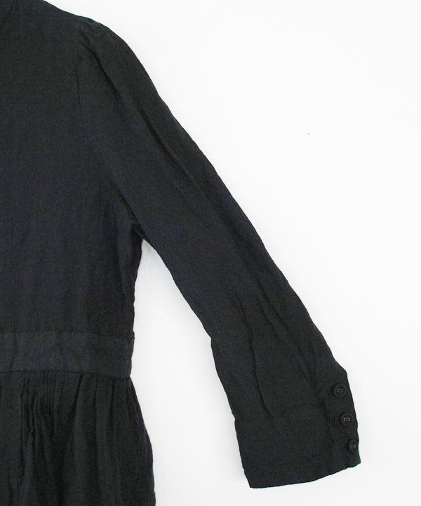 薬草をつむ タックジャケット(black)