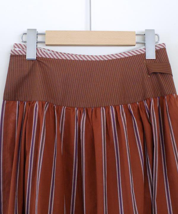 """"""" 堆積のパターン """"  巻きスカート"""