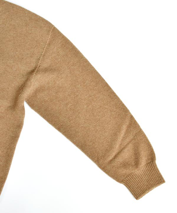 wholegarment  V/N pullover(キャメル)<img class='new_mark_img2' src='https://img.shop-pro.jp/img/new/icons1.gif' style='border:none;display:inline;margin:0px;padding:0px;width:auto;' />