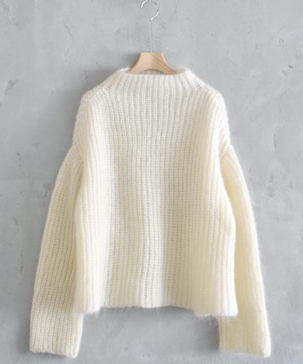 Wool Mohair Sweater(オフホワイト)<img class='new_mark_img2' src='https://img.shop-pro.jp/img/new/icons1.gif' style='border:none;display:inline;margin:0px;padding:0px;width:auto;' />