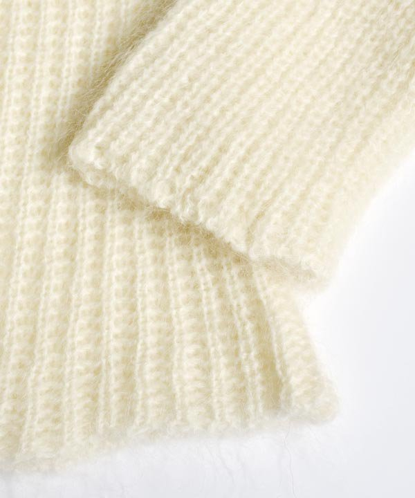 Wool Mohair Sweater(オフホワイト)