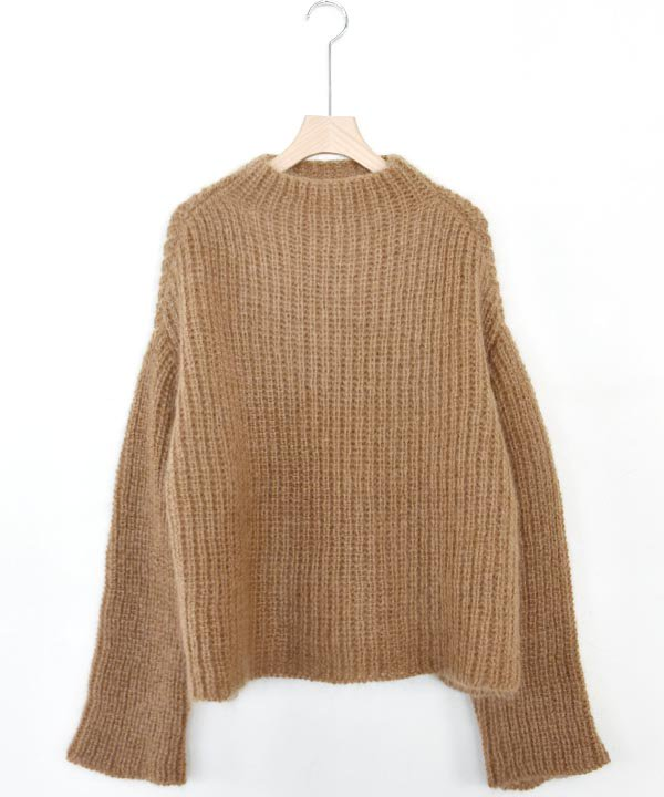Wool Mohair Sweater(ブラウン)<img class='new_mark_img2' src='https://img.shop-pro.jp/img/new/icons1.gif' style='border:none;display:inline;margin:0px;padding:0px;width:auto;' />