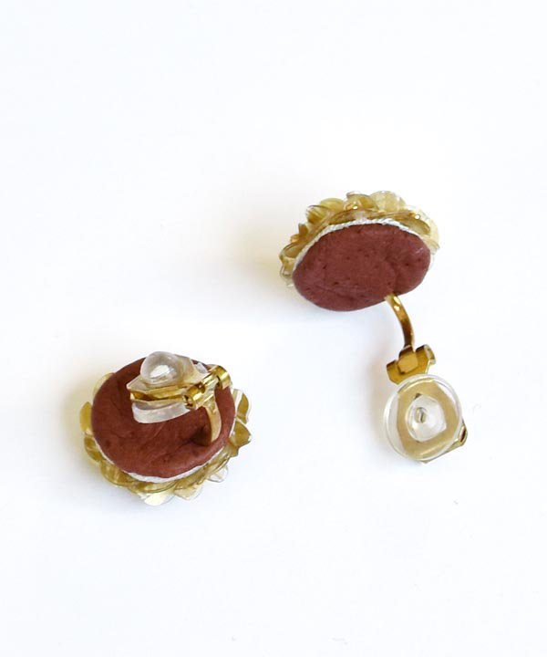Marble / earring<img class='new_mark_img2' src='https://img.shop-pro.jp/img/new/icons1.gif' style='border:none;display:inline;margin:0px;padding:0px;width:auto;' />